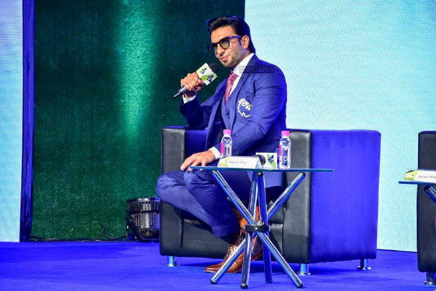 Ranveer Singh At An Premier League India Event