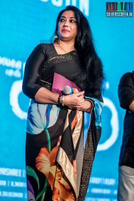 Rekha At The Karu Audio Launch