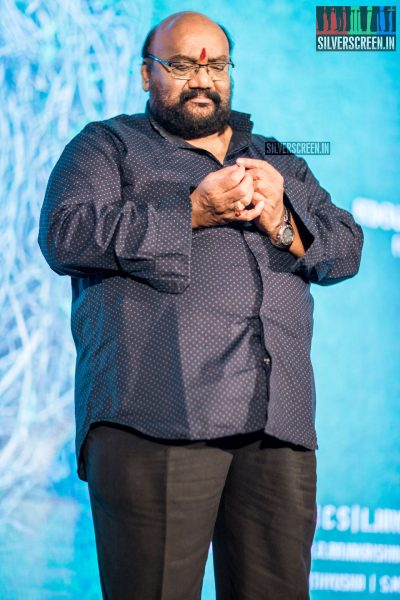 Santhana Bharathi At The Karu Audio Launch