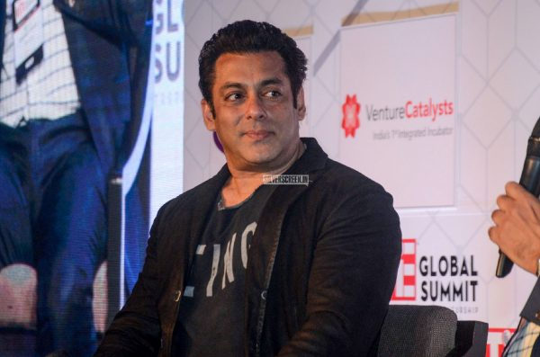 Salman Khan At The TiE Global Summit