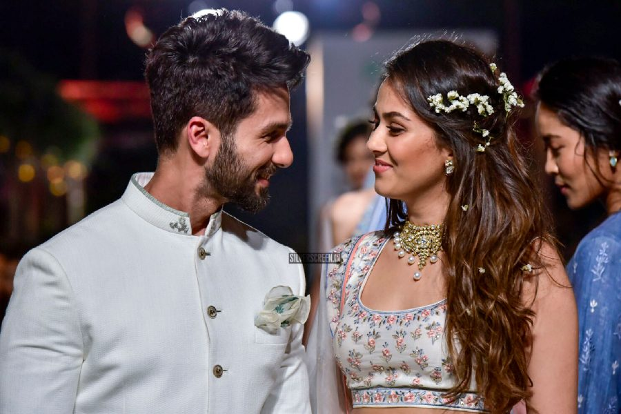 Shahid Kapoor, Mira Rajput Walk For Anita Dongre At Lakme Fashion Week