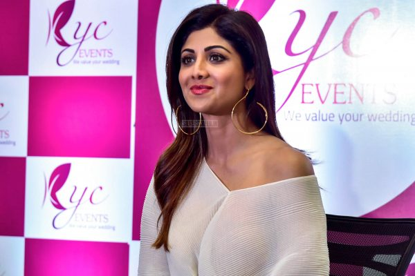 Shilpa Shetty At KYC Wedding Events Launch