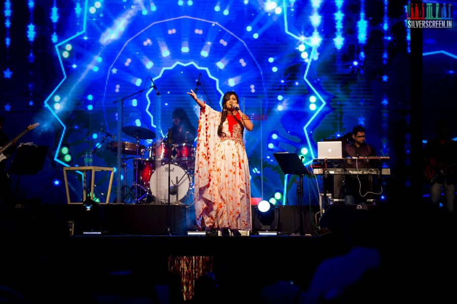 Shreya Ghoshal Performing At The Opening Ceremony Of JITO Connect 2018