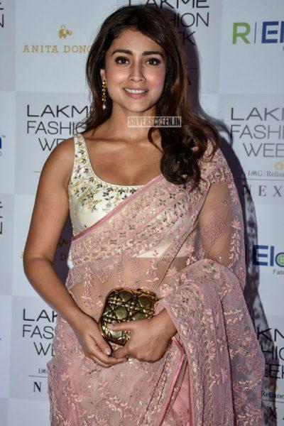 Shriya Saran At Lakme Fashion Week