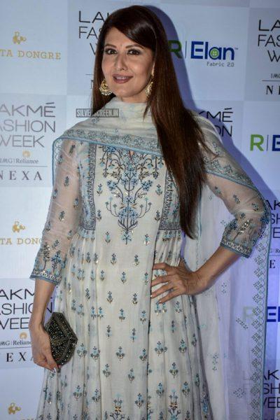 Rambha At Lakme Fashion Week