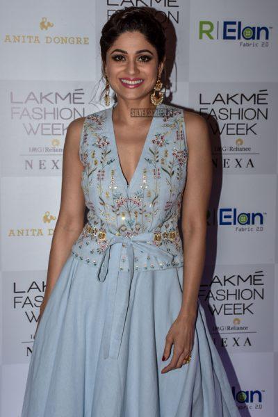 Shamita Shetty At Lakme Fashion Week