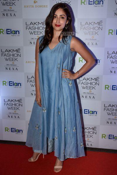 Yami Gautam At Lakme Fashion Week