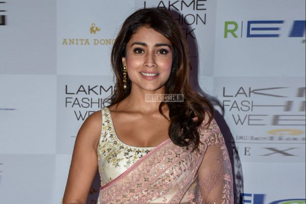 Shriya Saran At Lakme Fashion Week