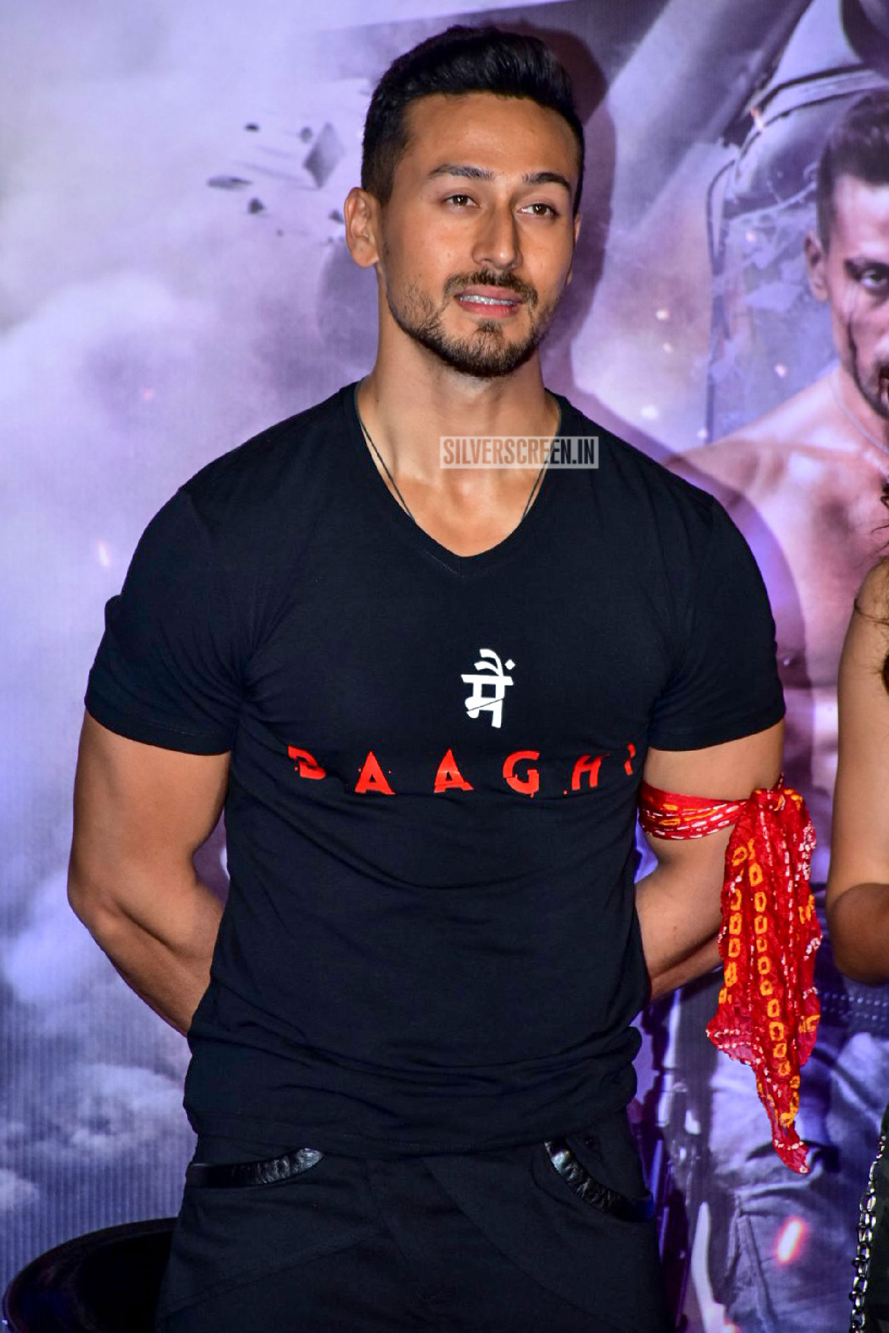 tiger shroff and disha patani at the baaghi 2 trailer launch
