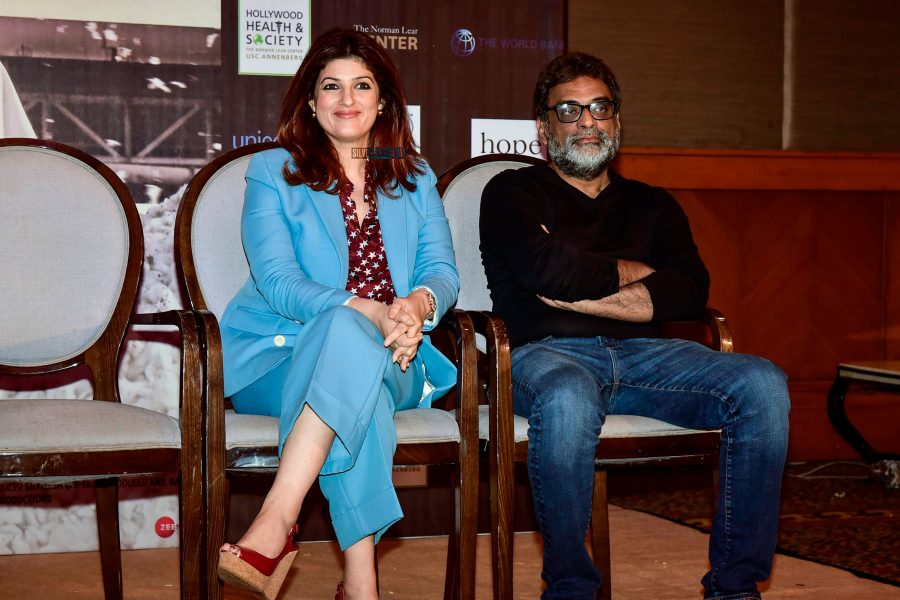 Twinkle Khanna At A Talk On PadMan & Mentstrual Hygiene
