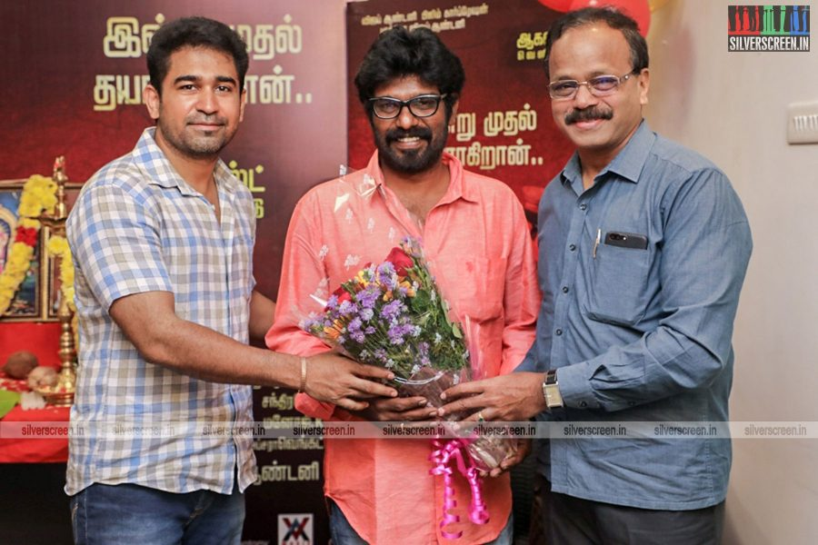 Vijay Antony At The Thimiru Pudichavan Movie Launch