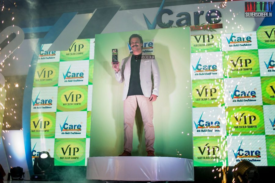 Vivek Oberoi At The Launch Of VCare VIP Products