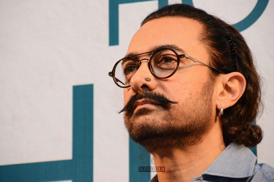 Aamir Khan At Manjeet Hirani's Book Launch