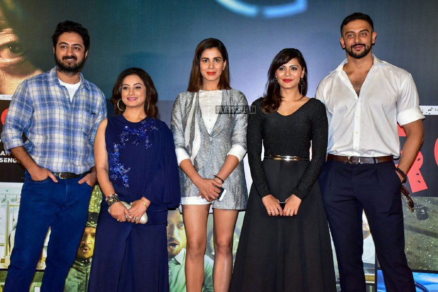 Abhinay Deo, Kirti Kulhari & Others At The Blackmail Audio Launch