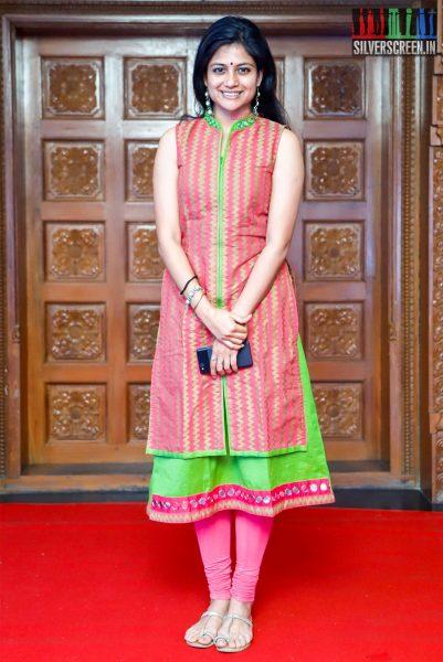 Aditi Balan At The Raindrops Women Achievers Awards 2018