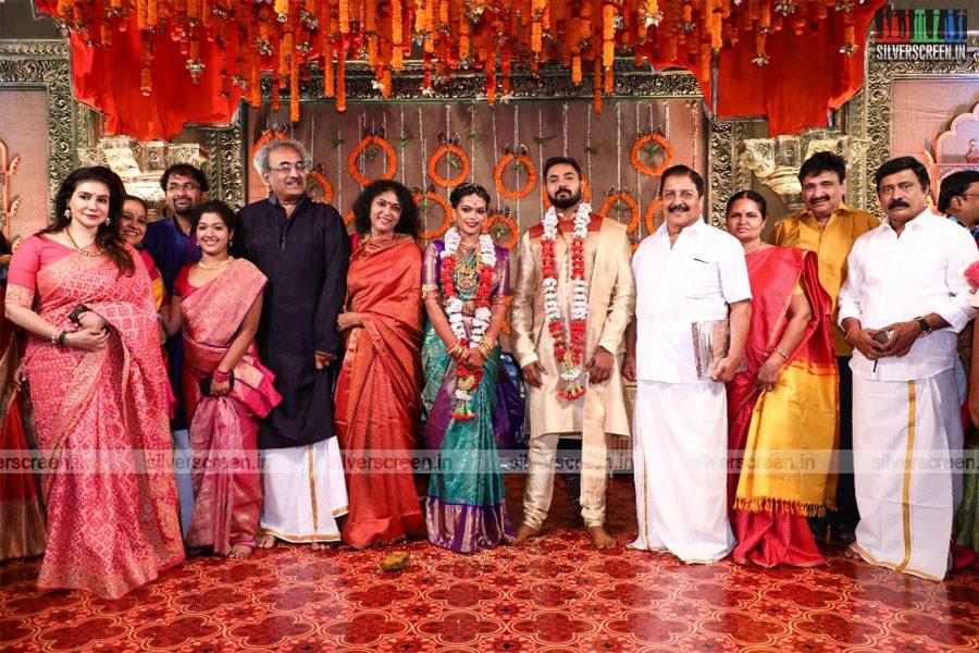 Celebrities At Keerthana and Akshay Wedding
