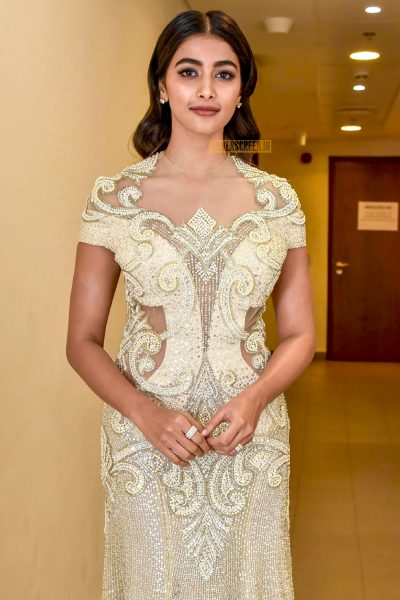 Pooja Hegde At The Re-launch of Filmfare Middle East