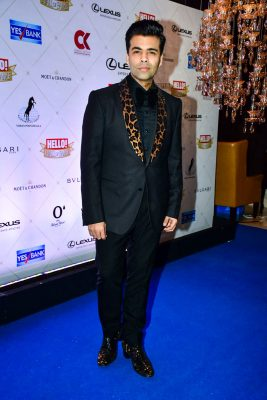 Karan Johar At The Hello Hall Of Fame Awards