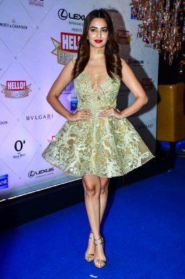 Kriti Kharbanda At The Hello Hall Of Fame Awards
