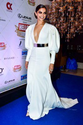 Deepika Padukone At The Hello Hall Of Fame Awards