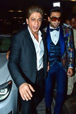 Shah Rukh Khan At The Hello Hall Of Fame Awards