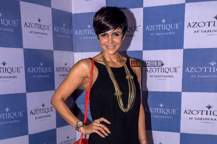 Mandira Bedi At The Launch Of Azotique Jewellery Store