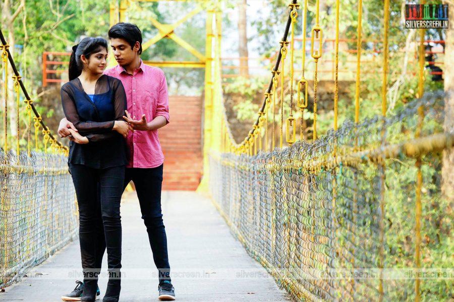 Krishnam Movie Stills Starring Akshay Krishnan, Ashwaria Ullas, Mamitha Baiju