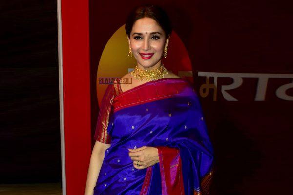 Madhuri Dixit At the Zee Chitra Gaurav Awards