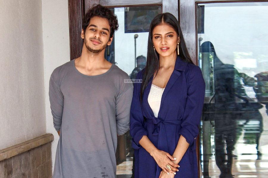Malavika Mohanan, Ishaan Khatter During The Promotions Of Beyond The Clouds