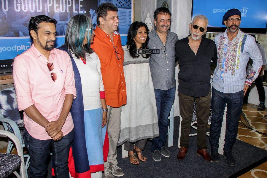 Naseeruddin Shah, Nandita Das, Rajkumar Hirani At A Talk On 'Films For Change'