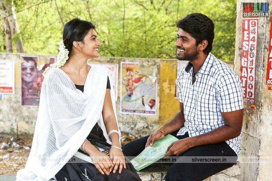 Pariyerum Perumal Movie Stills Starring Kathir and Anandhi