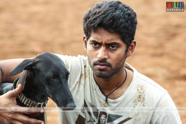 Pariyerum Perumal Movie Stills Starring Kathir and Anandhi