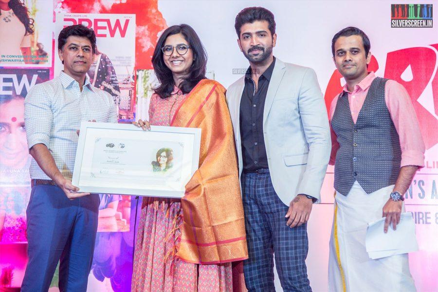 Arun Vijay At The Brew Women Awards 2018