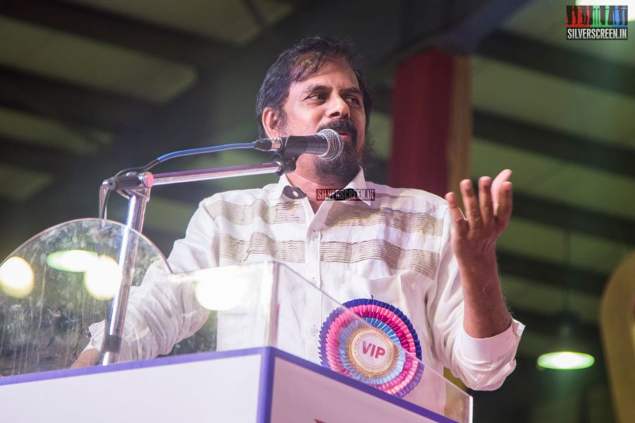 RK Selvamani At The Inauguration of MGR Statue