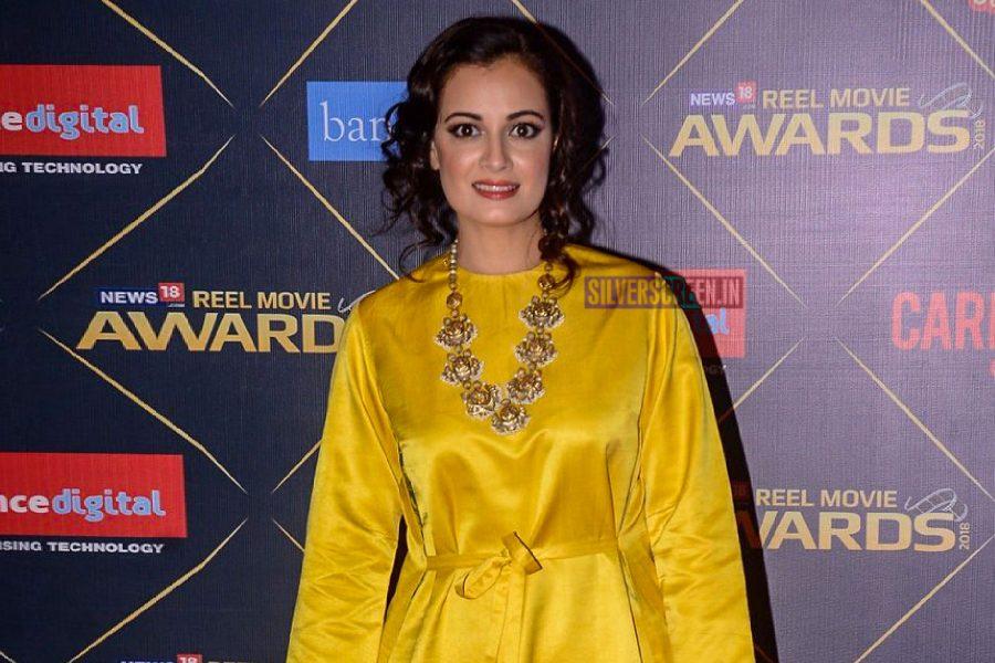 Dia Mirza At The News18 REEL Movie Awards