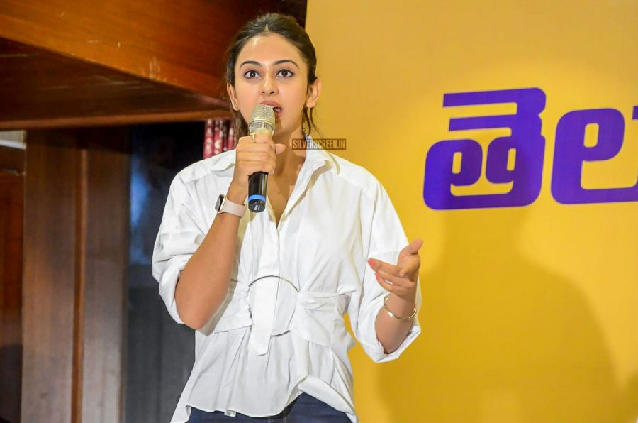 Rakul Preet Singh, Lakshmi Manchu At Telugu Movie Artist Association Meet
