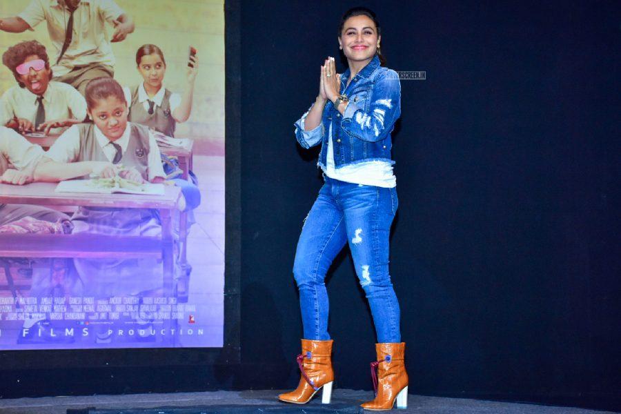 Rani Mukerji At The Hichki Success Party