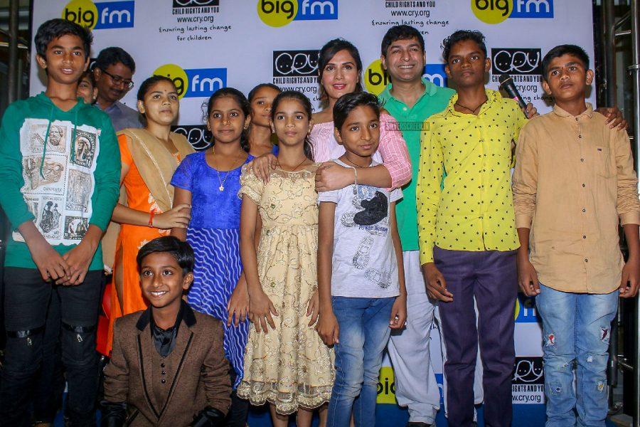 Richa Chadda Celebrates International Day Of Happiness With School Children
