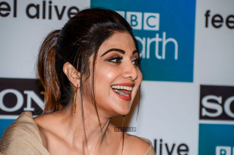 Shilpa Shetty At The Anniversary Celebrations Of BBC Earth TV Channel