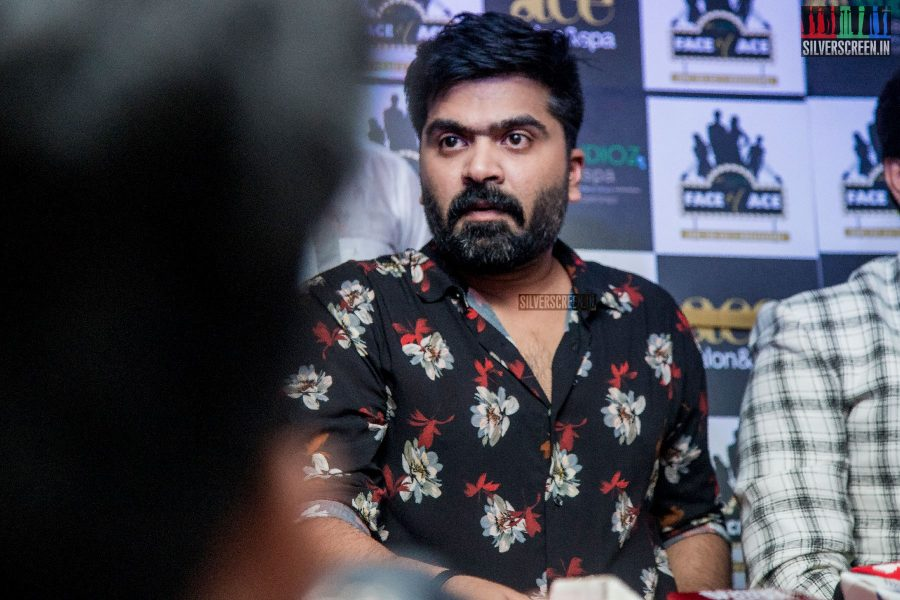 Silambarasan At The Inauguration Of Ace Studioz Salon And Spa
