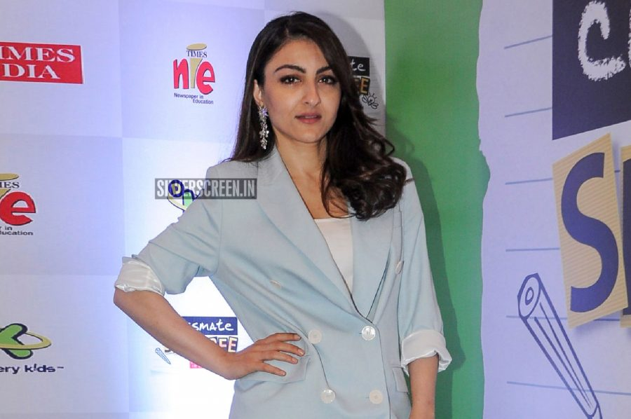 Soha Ali Khan At A Spelling Bee Event