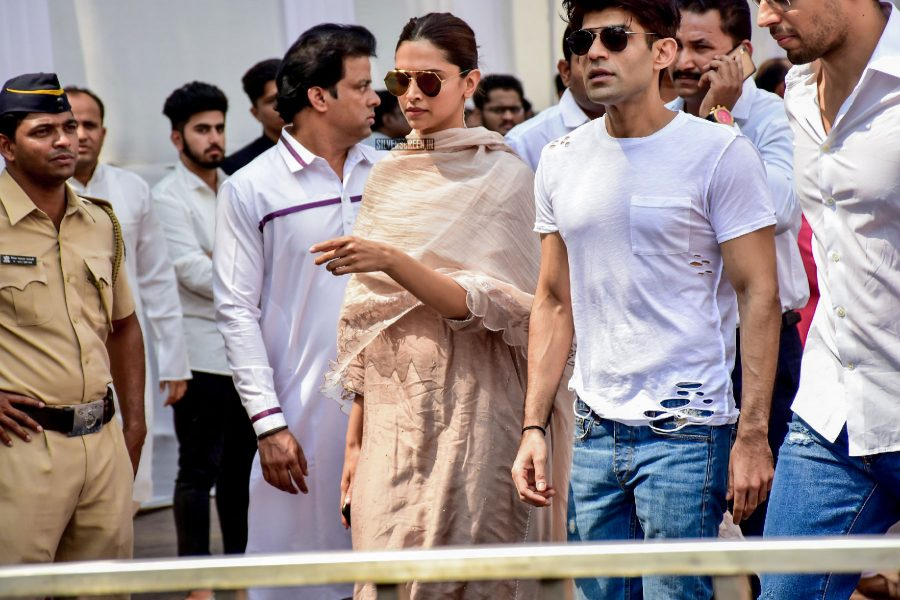 Sridevi's Funeral: Celebrities Pay Their Last Respects