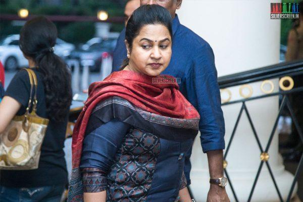 Radhika At The Sridevi Prayer Meet
