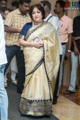 Latha Rajinikanth At The Sridevi Prayer Meet