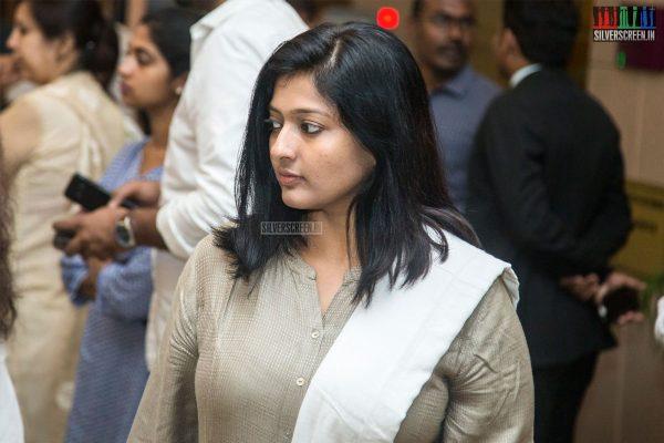 Gayathri Rahuram At The Sridevi Prayer Meet