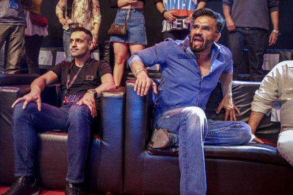 Tiger Shroff, Suneil Shetty On Super Fight League