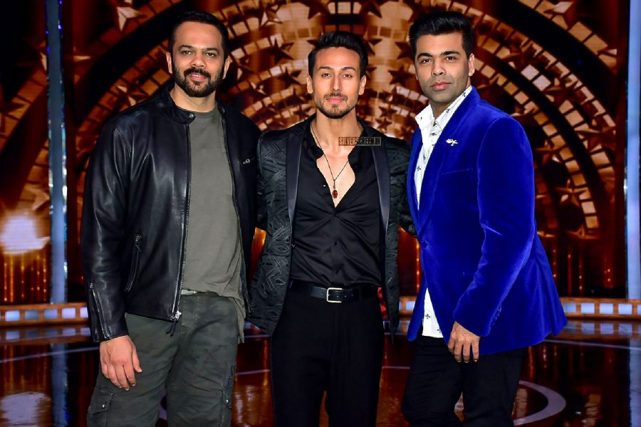 Tiger Shroff With Karan Johar & Rohit Shetty On India's Next Superstar