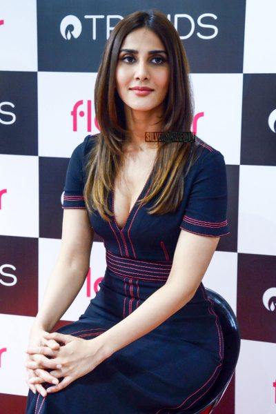 Vaani Kapoor At Launch Of Flomar From Reliance Trends In Delhi