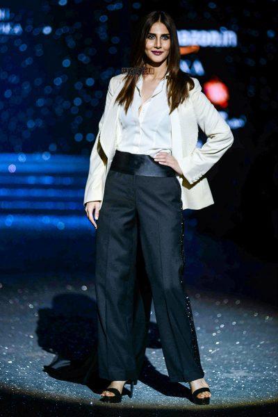 Vaani Kapoor Walks The Ramp For Gauri & Nainika At Amazon India Fashion Week