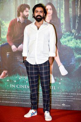 Varun Dhawan, Banita Sandhu, Shoojit Sircar At The October Trailer Launch